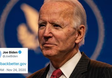 Joe Biden flexes shiny new .gov address, Twitter very much approves
