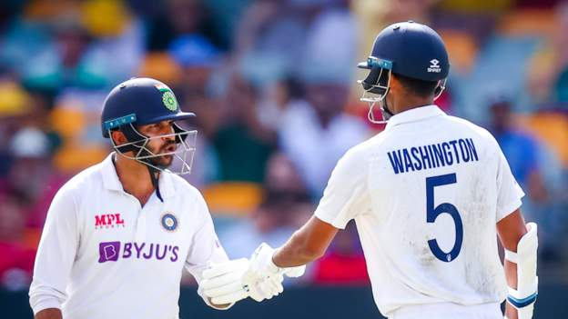 Thakur and Sundar's brilliant stand keeps India's hopes alive