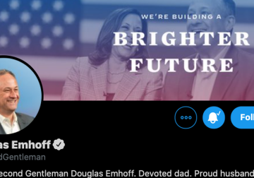 Twitter adds @SecondGentleman to official White House accounts