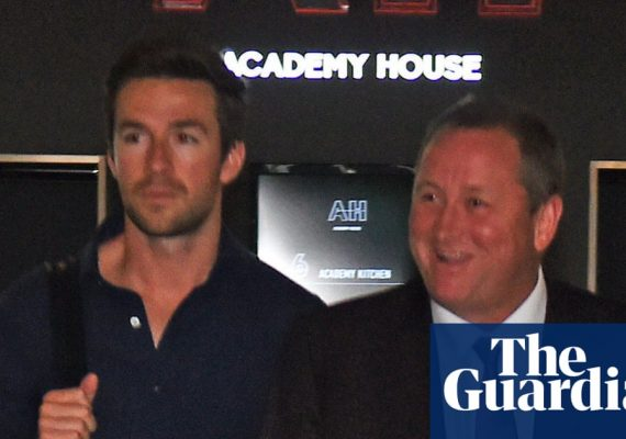 Michael Murray: from club promoter to Mike Ashley's likely successor