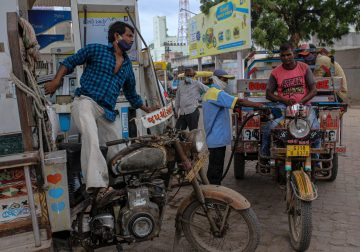 Gasoline Use Jumps as Cooped-Up Indian Drivers Hit the Roads